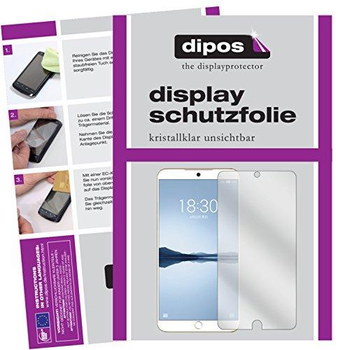 dipos I 2X Schutzfolie klar kompatibel mit Meizu 15 Plus Folie Bildschirmschutzfolie
