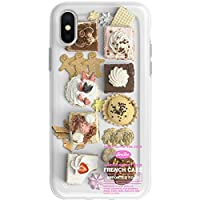 iPhoneケース、オリジナル、iPhone XsMax / 7 / 8Plus / XR、食品、リアルなケーキ、クッキー、ジンジャーブレッドマンに最適