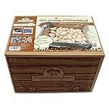 Bio Steinchampignon-Pilzzuchtset im Pilzzuchtkarton 5 kg, ganzjährig Pilze selber züchten