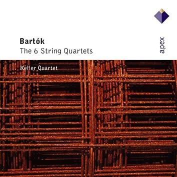 Bartók : String Quartets Nos 1 - 6 [Complete]  -  Apex
