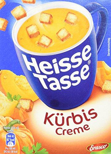 Heisse Tasse Kürbis-Creme mit Croûtons á 3 Beutel á 0,15 l, 12er Pack (12 x 450 ml)