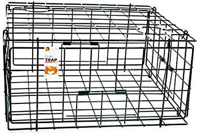 Danielson Pacific FTC Crab Trap-24in x 24in x 13in,Black