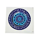 fengshuisale Feng Shui 5pcs Anti Burglary & Violence Window Sticker W Free Red String Bracelet W1699
