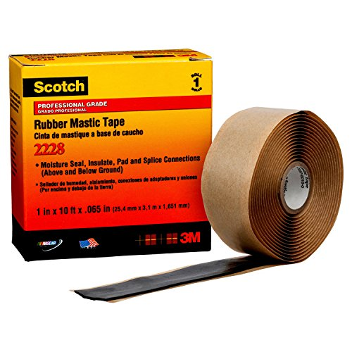 3M 2228 Scotch Isolierband, 2,5 cm x 3 m x 1,7 cm