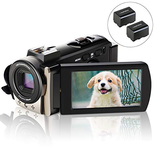 Caméscope, ACTITOP Caméscope FHD 1080p