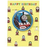 学研ステイフル きかんしゃトーマス メッセージカード 誕生日 缶バッジ付 トーマス B50121