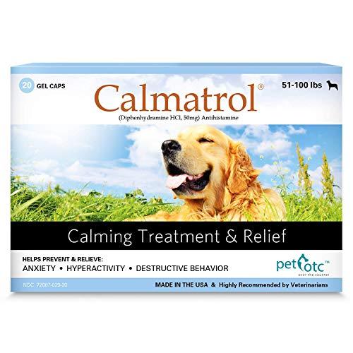 Calmatrol PET OTC Dog Separation Anxiety & Calming Meds