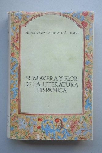 PRIMAVERA y Flor de la literatura hispánica.- Tomo segundo / [recopilación de] Dámaso Alonso, Eulalia Galvarriato de Alonso y Luis Rosales