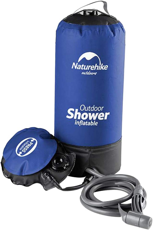 Prettyia Portable Collapsible Shower Bag 11L Camping Bathing Bath for Men Women Outdoors Hiking Climbing