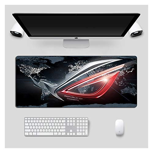 Mouse Pad Large Mousepad ASUS Non-Skid Rubber Republic of Gamers Gaming Mouse pad Laptop Notebook Desk Mat Compatible with CSGO Dota Keyboard Pad Computer Accessories (Color : 21x26cm)