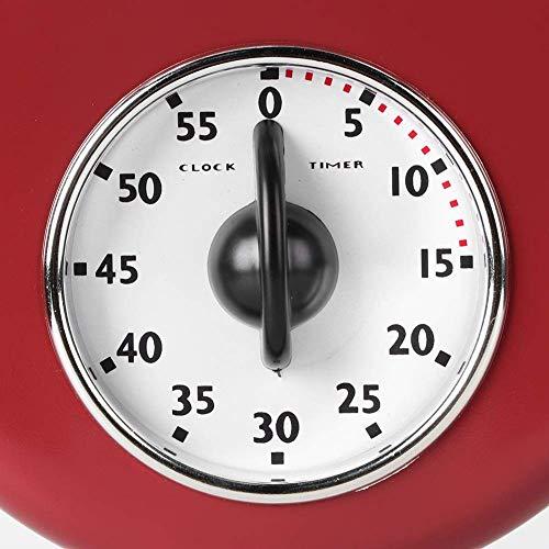 Wifehelper Reloj de Pared Vintage Reloj de Pared Simple Gran Reloj Elegante...