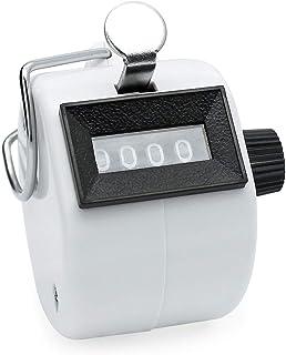 Jimjis 计数器 倒数器 计数器 计数器 手掌用 小型 4位 手持 防水 数器 计数器 计数器 计数器 交通量 入场人数