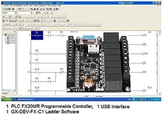 PLC Controller and Programming Software, USB Interface, Ladder Logic Automation w Training Bonus