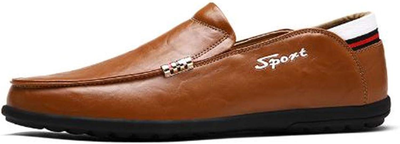 LCQJYXH Loafer Flats for Men Klassische Klassische Klassische Schuhe mit niedrigem Absatz tragen Abriebfeste, atmungsaktive, lässige, mehrfarbige Schuhe a609cb