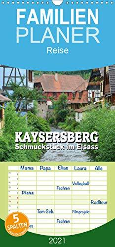 Kaysersberg - Schmuckstück im Elsass - Familienplaner hoch (Wandkalender 2021, 21 cm x 45 cm, hoch)