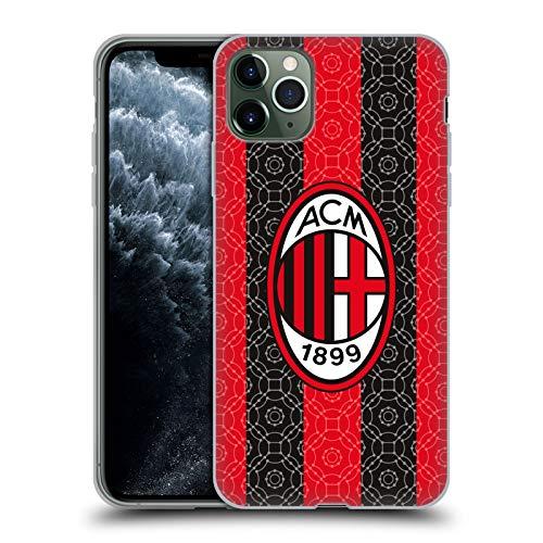Head Case Designs Oficial AC Milan in Casa 2020/21 Kit Crest Funda de suave gel compatible con Apple iPhone 11 Pro Max