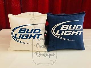 Bud Light Beer Cornhole Bags, Budlight 8 ACA Regulation Bud Light Corn Hole, Bean Bags, Baggo Toss, Tailgate Game