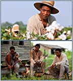 9-HO18E1 12 Years a Slave 60cm x 67cm,24inch x 27inch Silk
