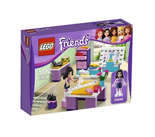 LEGO Friends - 3936 - Jeu de Construction - Le Studio de Design d'Emma
