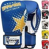 Farabi - guantes de boxeo para niños de 6 oz, guantes de entrenamiento de...