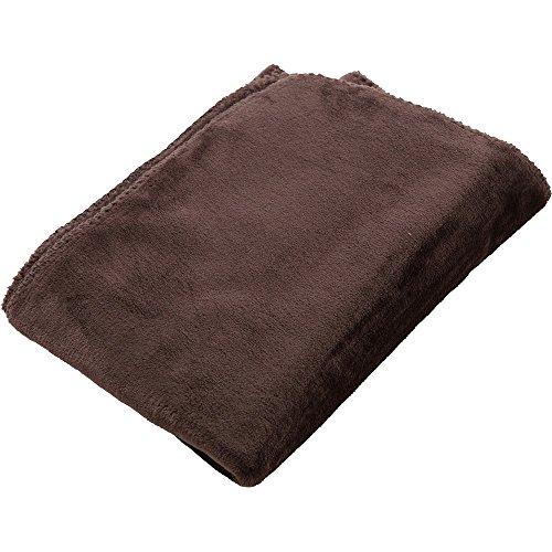 アイリスプラザ ひざ掛け 毛布 ブランケット プレミアムマイクロファイバー とろけるような肌触り fondan ...