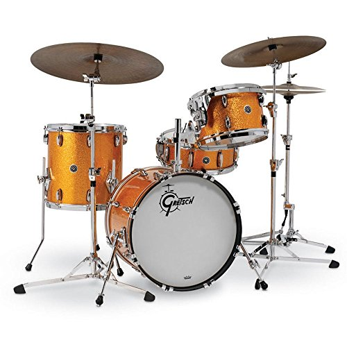 Gretsch Drums USA Brooklyn Series 4-Piece Shell Pack Vintage Cream...