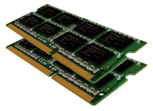 PNY MN4096KD3-1066 Optima 4 GB (2x2 GB) Dual Channel Kit DDR3 1066 MHz PC3-8500 Notebook SODIMM Memory Module