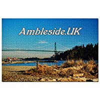 イギリスイングランドアンブルサイドパークジグソーパズル1000ピースゲームアートワーク旅行お土産木製