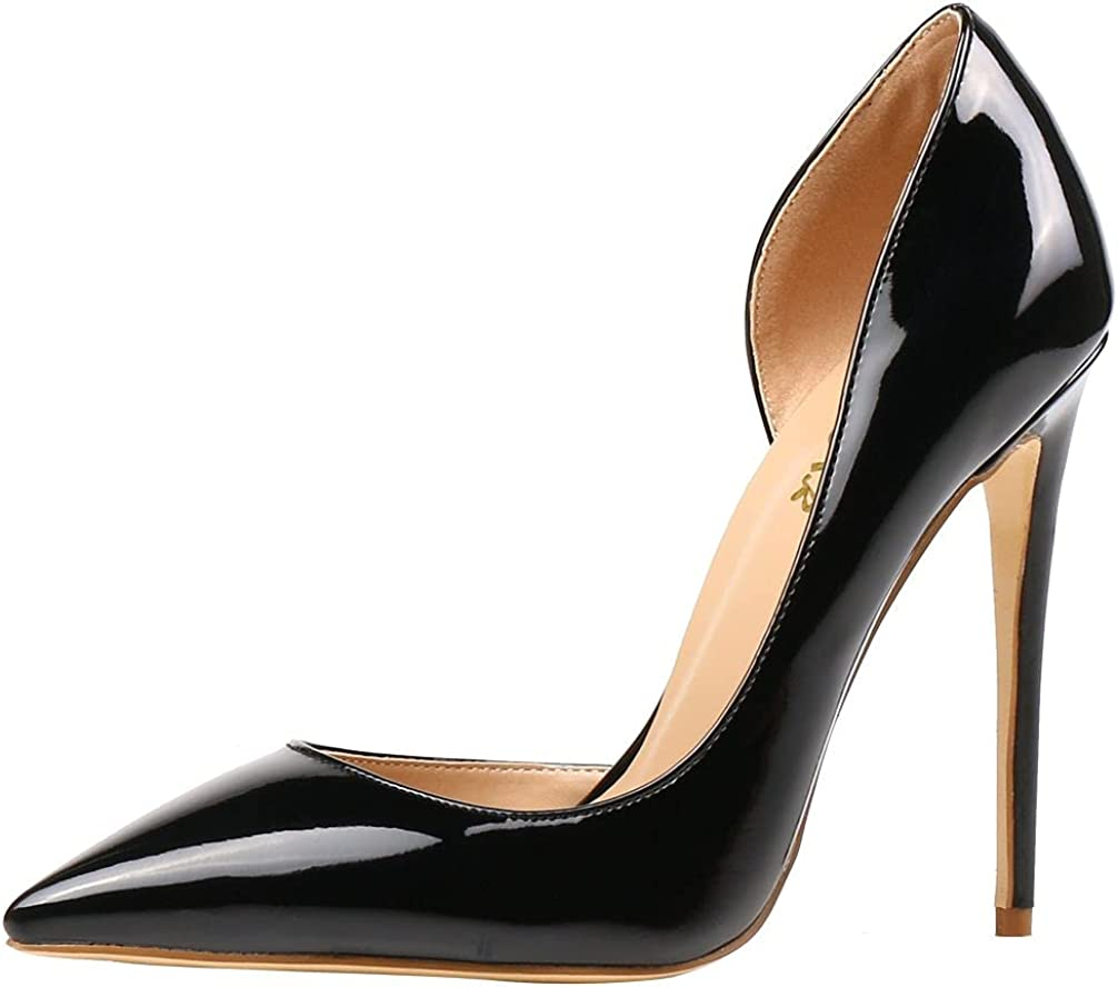 AOOAR Zapatos de tacón alto para mujer