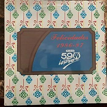 FELICIDADES 1986-87 RADIO 590  LA PANTERA  - RARE MEXICAN EDITION!!