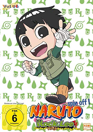 Rock Lee & seine Ninja Kumpels - Vol.4 (Episoden 40-51) (3 DVDs)