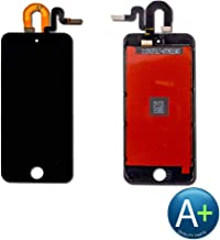 Touch Screen Digitizer and LCD Compatible with Apple iPod Touch 5 and iPod Touch 6 - Black (A1509, A1421, A1574)