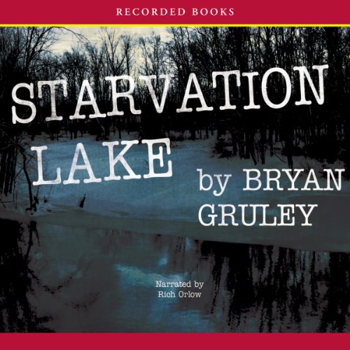 Starvation Lake audiobook cover art