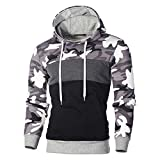 Kobay Hommes Sweat À Capuche Hooded Hoodies Mode Pull Veste Chaud Pullover Top Automne Hiver Sportif Casual Jacket Haut