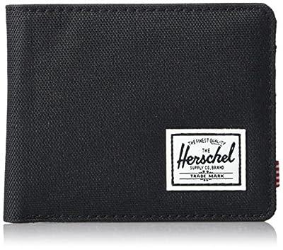 Herschel Men's Roy RFID Wallet, Black, One Size