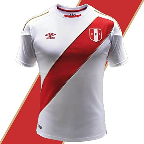 Umbro Peru Soccer Jersey World Cup 2018 Authentic Official Men s Soccer  Shirt 92bfe8bc1dbd