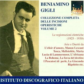 Opera Arias (Tenor): Gigli, Beniamino - Donizetti, G. / Puccini, G. / Drigo, R. / Verdi, G. (Complete Collection of Opera Highlights, Vol. 2)