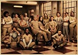 DUDUANLIAN Canvas Poster Orange is The New Black Poster