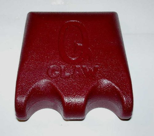 Q-Claw Cue Rest, Billiards 2 Pool Cues, WINE by Q-Claw