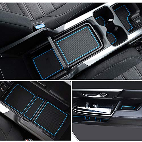 Auovo Anti-dust Mats for Honda CRV Accessories 2017 2018 2019 Door Liners Cup Holder Inserts Center...