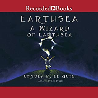 A Wizard of Earthsea     The Earthsea Cycle, Book 1              Auteur(s):                                                                                                                                 Ursula K. Le Guin                               Narrateur(s):                                                                                                                                 Rob Inglis                      Durée: 7 h et 17 min     35 évaluations     Au global 4,3