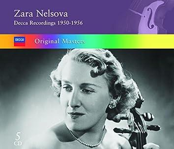 Zara Nelsova: Decca Recordings 1950-1956