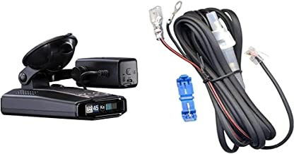 $669 » Escort iXc Radar Detector & Escort M1 Dash Camera Bundle, Black (0100042-1) & Direct Wire Power Cord for Radar and Laser D...