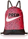 Nike Pl Nk Gmsk Rucksack mit Kordelzug, Unisex für Erwachsene Einheitsgröße Pink/Schwarz/Weiß (Racer pink/Black/White)