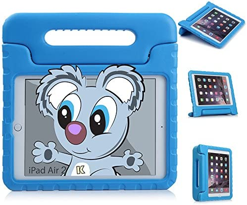 KaysCase Kidbox Case with Stand and Handle for Apple iPad Air 2 Bluey IPAD6 KIDBOX BLUE product image