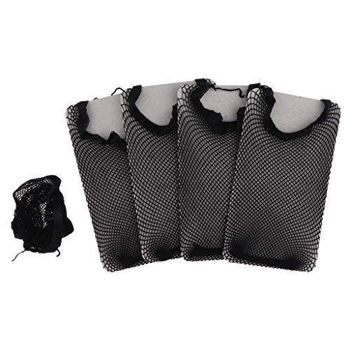Homyl 5x Bonnet Perruque Casquette Perruque Cheveux Tissage Bouchon Maille Etirement Net Tissage Accessoires de Perruques