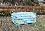 XINDUO Piscina Infantil Hinchable Familiares,Piscina Inflable al Aire Libre del hogar-210 4 Pisos,Easy Set Piscina Inflable