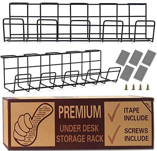 Kabelkanal Schreibtisch Kabelkanal Schreibtisch Cable Management - Computer Kabel Aufbewahrung zum einfachen Kabelmanagement