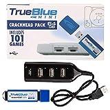 HYMAN True Blue Mini Crackhead Pack para Playstation Classic, 64G, 101 Juegos