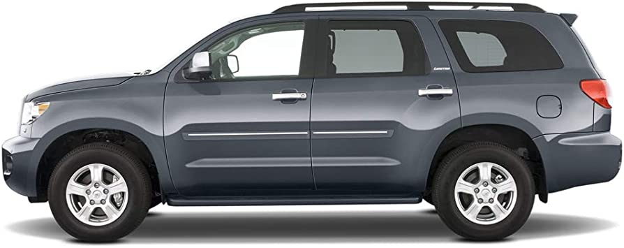 WA140X//G1W Abalone White TRICOAT Dawn Enterprises CF2-EQUINOX18 Chromeline Body Side Molding Compatible with Chevrolet Equinox